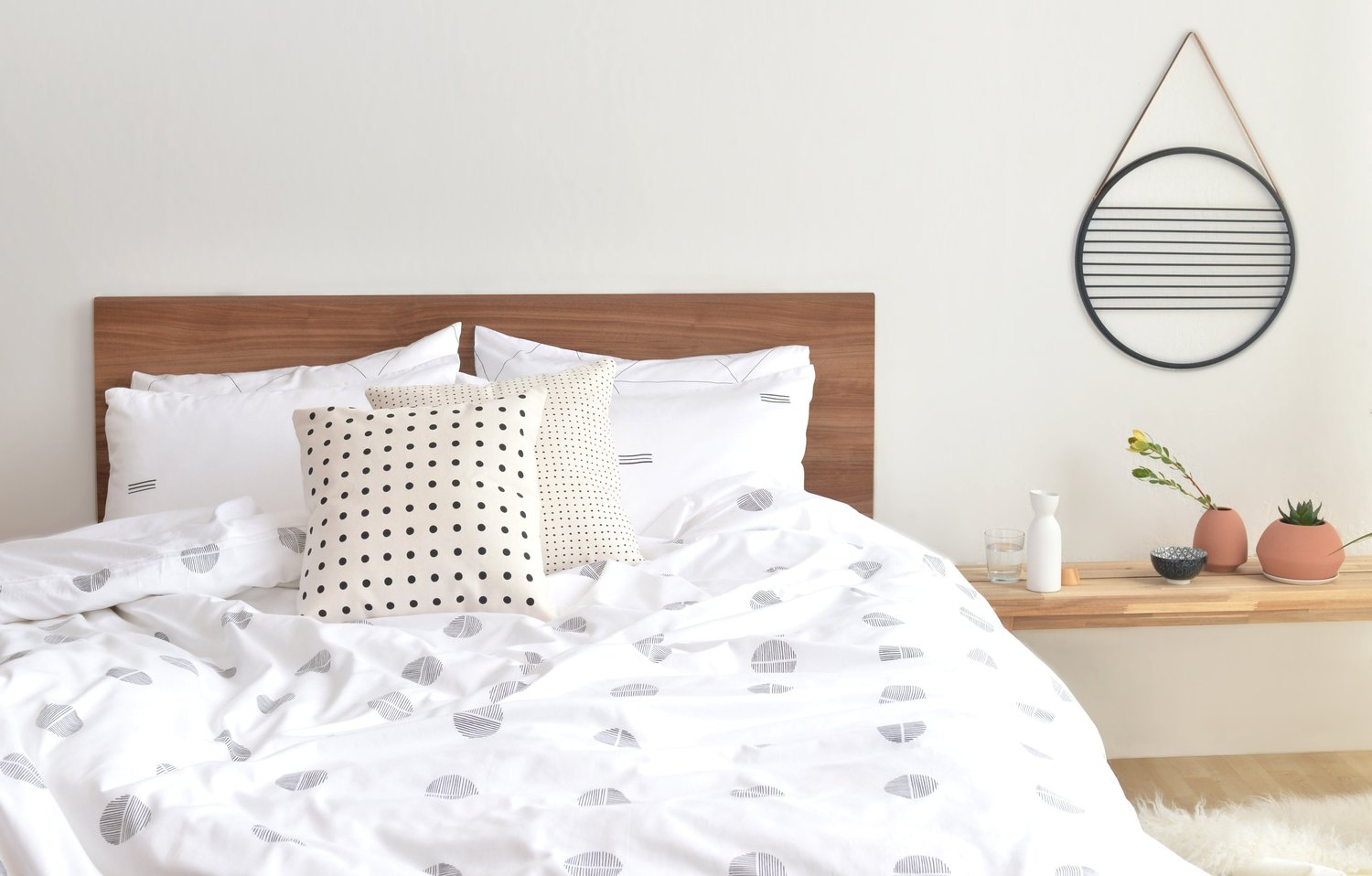 Sustainable and organic linen and bedding.